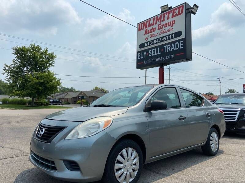 2013 Nissan Versa for sale at Unlimited Auto Group in West Chester OH