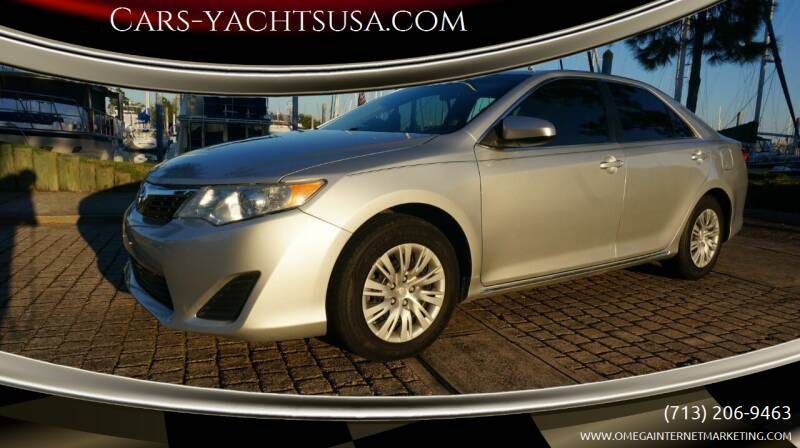 2012 Toyota Camry for sale at Cars-yachtsusa.com in League City TX