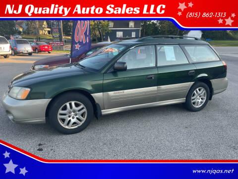 2002 Subaru Outback for sale at NJ Quality Auto Sales LLC in Richmond IL