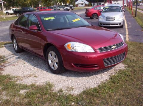 2008 Chevrolet Impala for sale at LAKESIDE MOTORS LLC in Houghton Lake MI