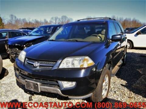 2003 Acura MDX for sale at East Coast Auto Source Inc. in Bedford VA