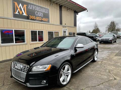 2009 Audi S5 for sale at M & A Affordable Cars in Vancouver WA
