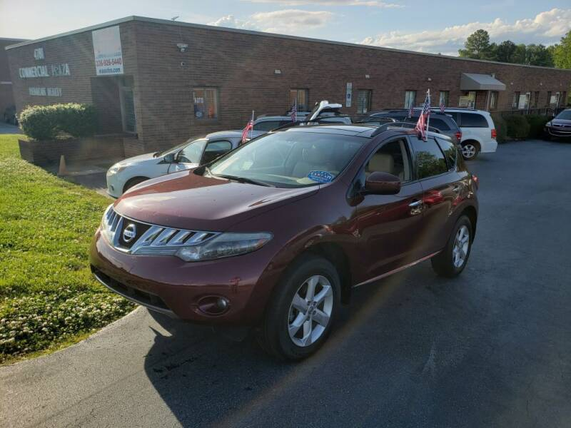 2009 Nissan Murano for sale in Winston-Salem, NC
