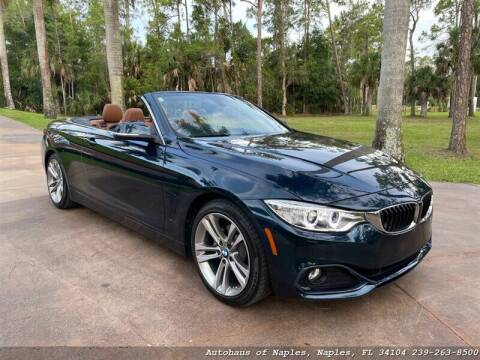 2016 BMW 4 Series for sale at Autohaus of Naples Inc. in Naples FL