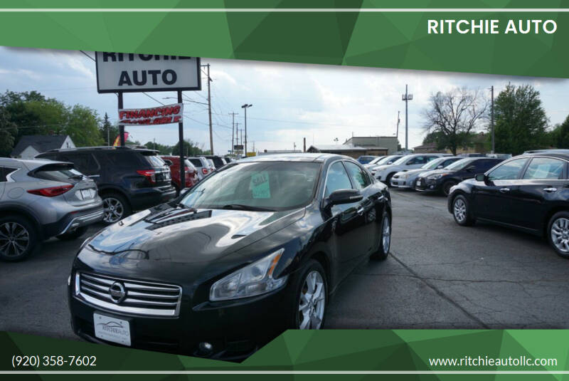 2013 Nissan Maxima for sale at Ritchie Auto in Appleton WI