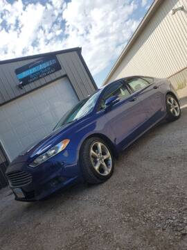 2014 Ford Fusion for sale at Born Again Auto's in Sioux Falls SD