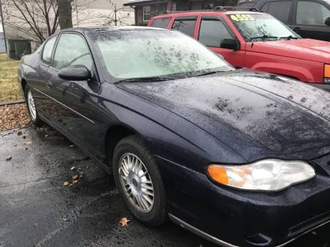 2002 Chevrolet Monte Carlo for sale at Indy Motorsports in St. Charles MO