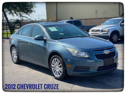 2012 Chevrolet Cruze for sale at ASTRO MOTORS in Houston TX