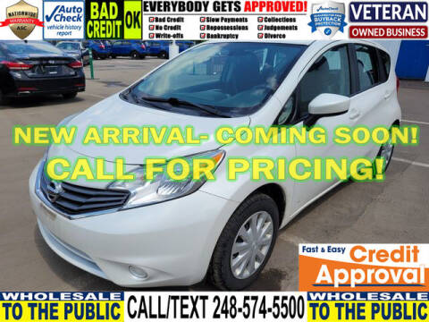 2015 Nissan Versa Note for sale at North Oakland Motors in Waterford MI
