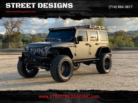 2014 Jeep Wrangler Unlimited for sale at STREET DESIGNS in Upland CA