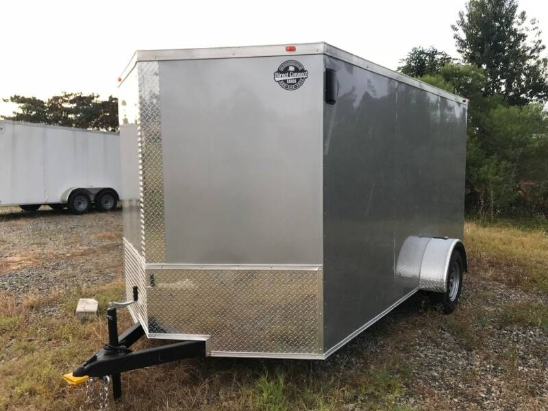 2021 7x12 Single Axle Enclosed Cargo Trailer for sale at Direct Connect Cargo in Tifton GA