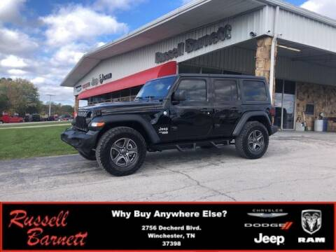 2018 Jeep Wrangler Unlimited for sale at Russell Barnett Chrysler Dodge Jeep Ram in Winchester TN