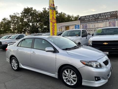 2009 Toyota Corolla for sale at Black Diamond Auto Sales Inc. in Rancho Cordova CA