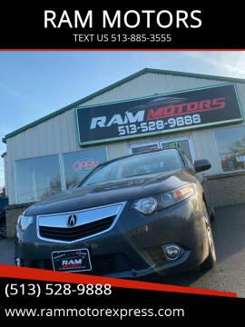 2011 Acura TSX for sale at RAM MOTORS in Cincinnati OH