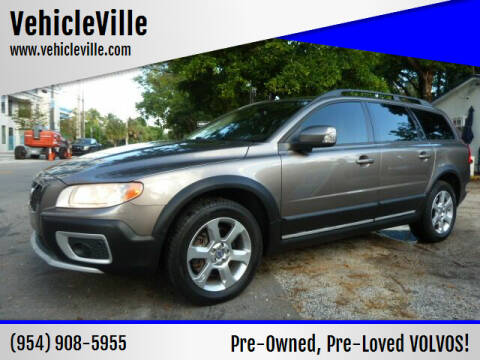 2009 Volvo XC70 for sale at VehicleVille in Fort Lauderdale FL