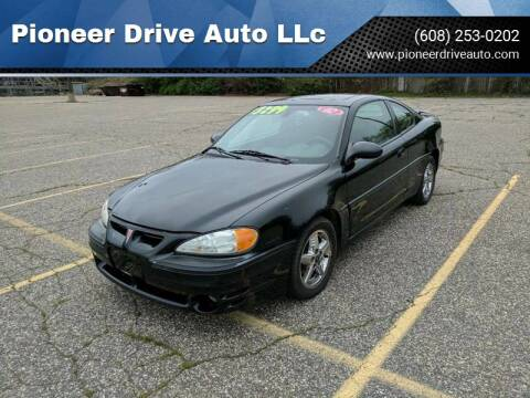 2002 Pontiac Grand Am for sale at Pioneer Drive Auto LLc in Wisconsin Dells WI
