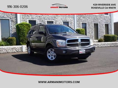 2004 Dodge Durango for sale at Armani Motors in Roseville CA