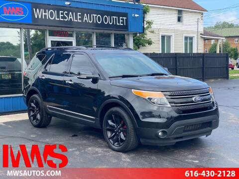 2013 Ford Explorer for sale at MWS Wholesale  Auto Outlet in Grand Rapids MI