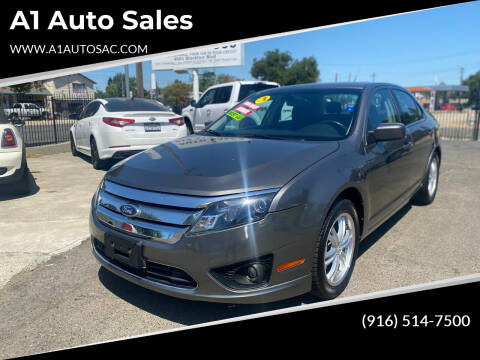 2012 Ford Fusion for sale at A1 Auto Sales in Sacramento CA