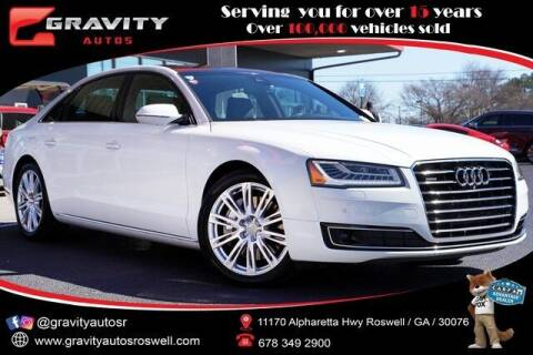 2016 Audi A8 L for sale at Gravity Autos Roswell in Roswell GA