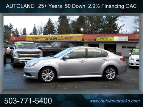 2014 Subaru Legacy for sale at Auto Lane in Portland OR