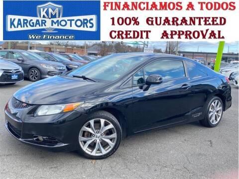 2012 Honda Civic for sale at Kargar Motors of Manassas in Manassas VA