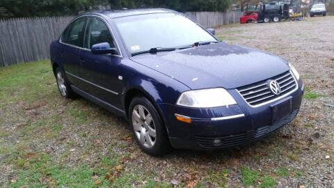 2001 Volkswagen Passat for sale at Bricktown Motors in Brick NJ