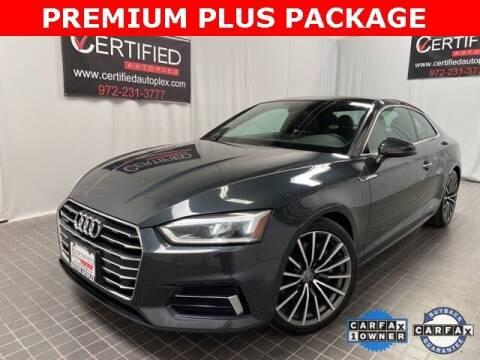 2018 Audi A5 for sale at CERTIFIED AUTOPLEX INC in Dallas TX