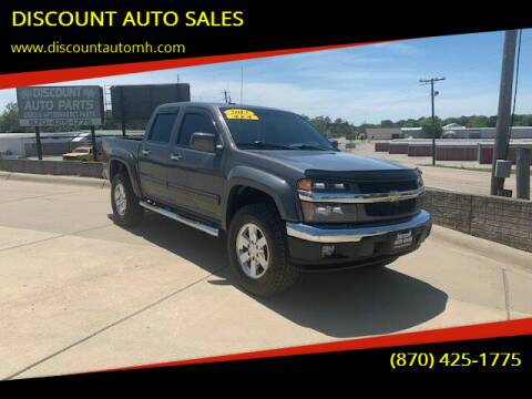 2012 Chevrolet Colorado for sale at DISCOUNT AUTO SALES in Mountain Home AR