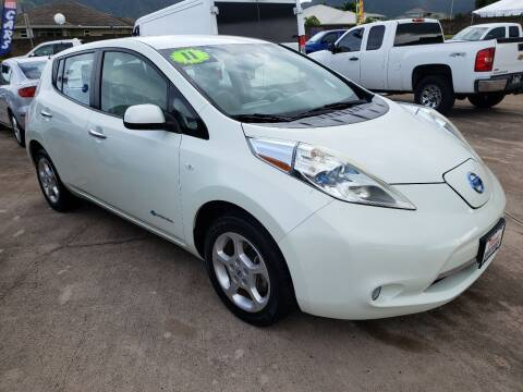 2011 Nissan LEAF for sale at Ohana Motors in Lihue HI