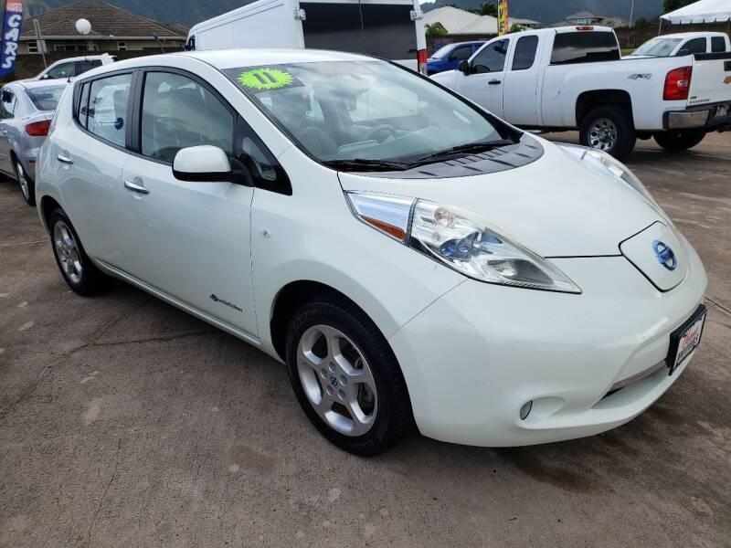 2011 Nissan LEAF for sale at Ohana Motors in Lihue HI