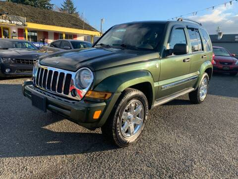 2006 Jeep Liberty for sale at MK MOTORS in Marysville WA