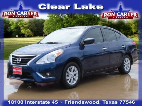 2019 Nissan Versa for sale at Ron Carter  Clear Lake Used Cars in Houston TX