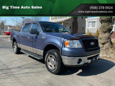 2006 Ford F-150 for sale at Big Time Auto Sales in Vauxhall NJ