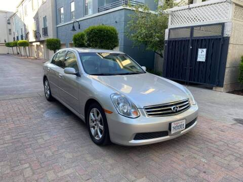 2005 Infiniti G35 for sale at Bay Auto Exchange in San Jose CA