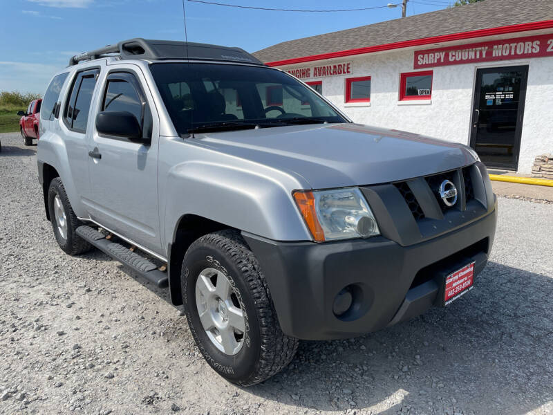 2008 Nissan Xterra for sale at Sarpy County Motors in Springfield NE