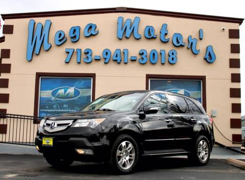 2009 Acura MDX for sale at MEGA MOTORS in South Houston TX