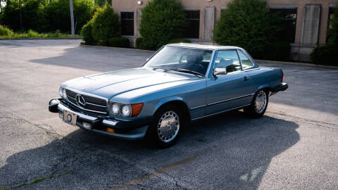 1986 Mercedes-Benz 560-Class for sale at Siglers Auto Center in Skokie IL
