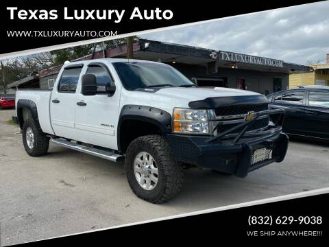 2013 Chevrolet Silverado 2500HD for sale at Texas Luxury Auto in Houston TX