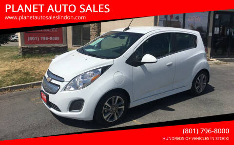 2016 Chevrolet Spark EV for sale at PLANET AUTO SALES in Lindon UT