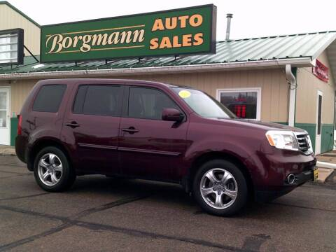 2012 Honda Pilot for sale at Borgmann Auto Sales in Norfolk NE