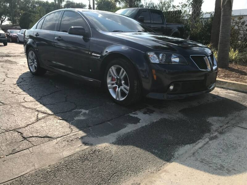 2009 Pontiac G8 for sale at AutoVenture Sales And Rentals in Holly Hill FL