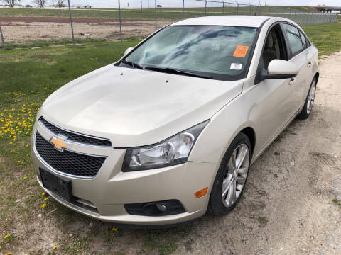 2013 Chevrolet Cruze for sale at Sonny Gerber Auto Sales in Omaha NE