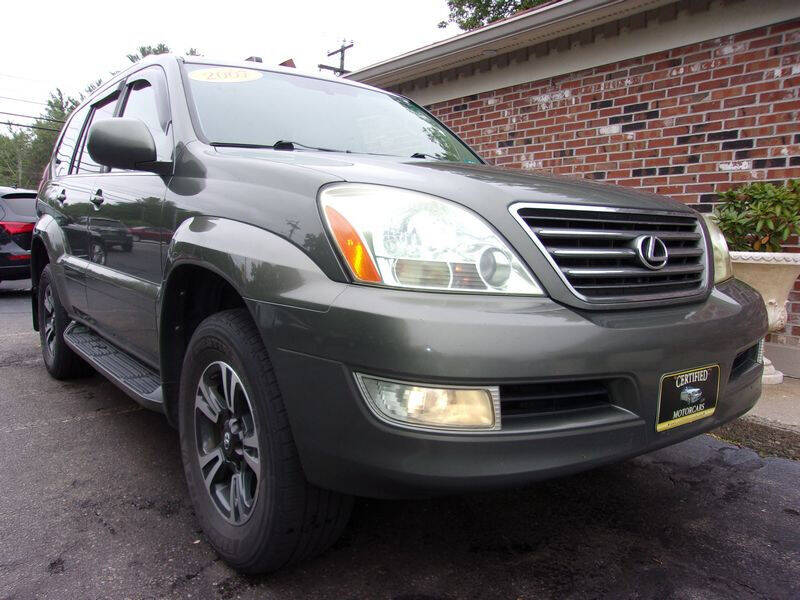 2007 Lexus GX 470 for sale at Certified Motorcars LLC in Franklin NH