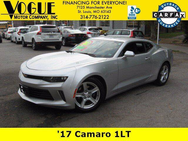 2017 Chevrolet Camaro for sale at Vogue Motor Company Inc in Saint Louis MO