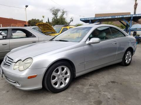 2004 Mercedes-Benz CLK for sale at Olympic Motors in Los Angeles CA