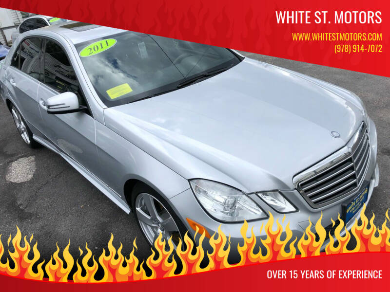 2011 Mercedes-Benz E-Class for sale at White St. Motors in Haverhill MA
