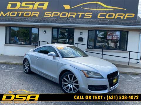 2008 Audi TT for sale at DSA Motor Sports Corp in Commack NY