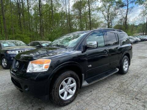 2008 Nissan Armada for sale at Car Online in Roswell GA