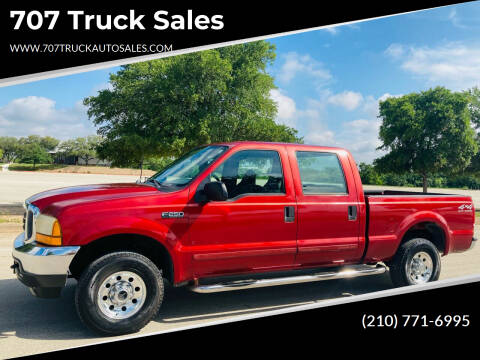 2001 Ford F-250 Super Duty for sale at 707 Truck Sales in San Antonio TX